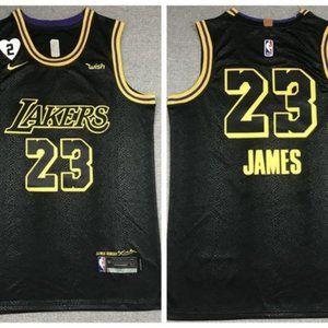 Lebron James Heart Jersey LA Lakers 23 Jersey